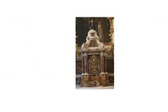 Particolare delle pieve di San Pietro, Csalguidi