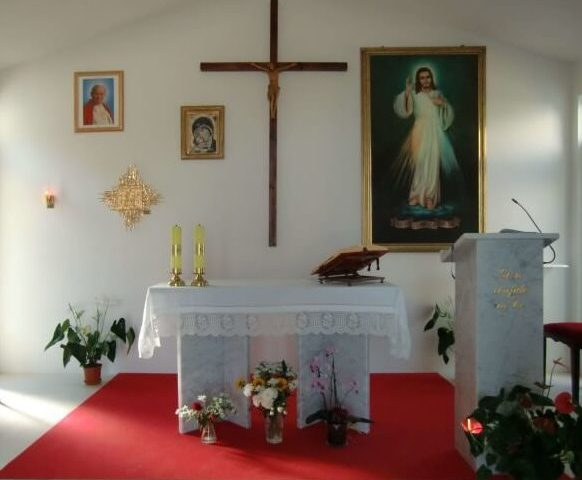 Sanctuary of  Divine Mercy and Giovanni Paolo II