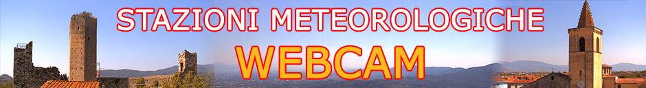 Webcam e stazioni meteorologiche